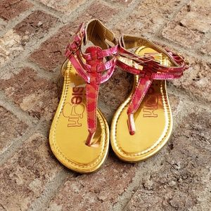 Other - Girls pink Gladiator sandals size 1